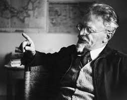 Trotsky about to get the Trots