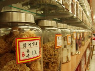 Herbs in a HK Shop