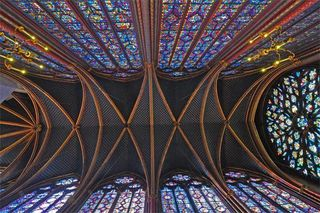 SainteChapelle Ceiling