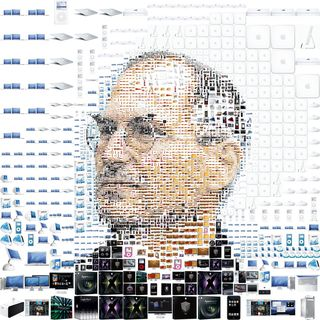 Steve Jobs Pixellated