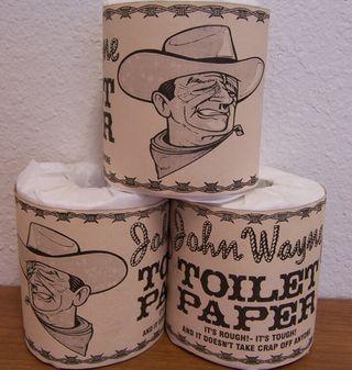 John Wayne Toilet Paper