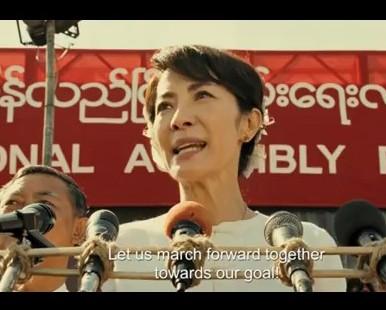Michelle Speaking Burmese