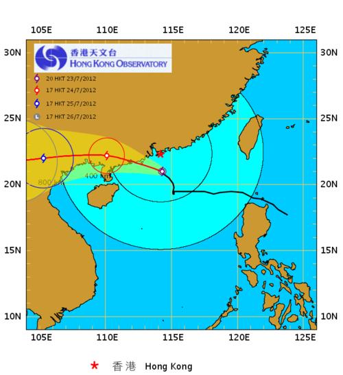 Typhoon Vicente