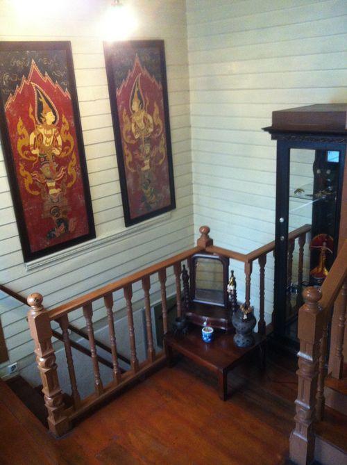 Stairs at Baan Chantra