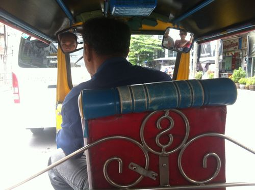 In the Back of the Tuk-tuk