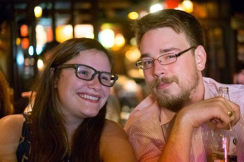 Rachel & Tom at Ned Kelly's