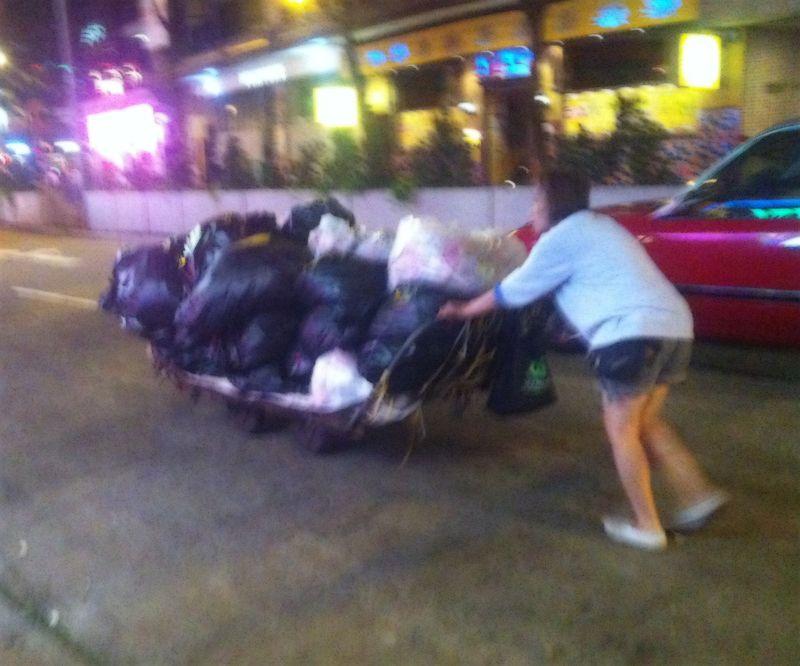 Wanchai for Garbage Collectors