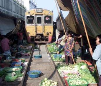 Bangkok Market Train