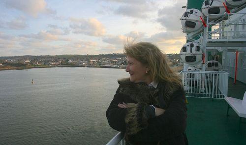 Leaving Pembroke