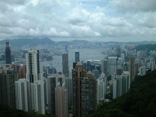 2002 07 02 View of Hong Kong fr