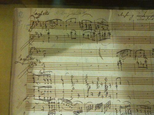 In Mozart's Hand