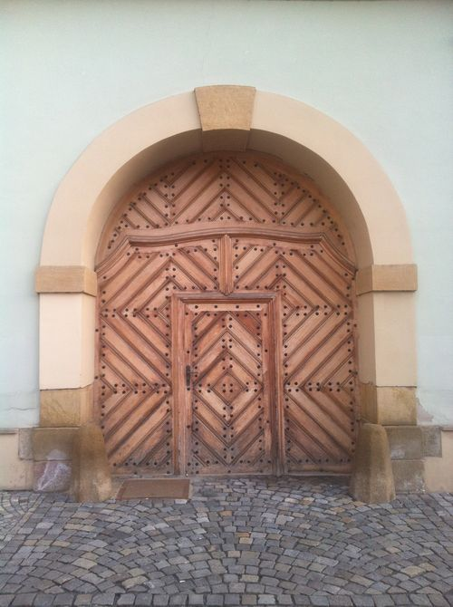 Another Canonical Courtyard Entrance