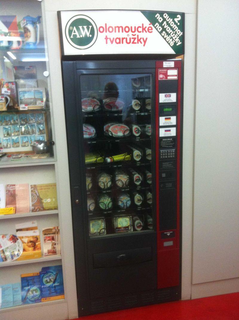 Olomouc Cheese Vending Machine