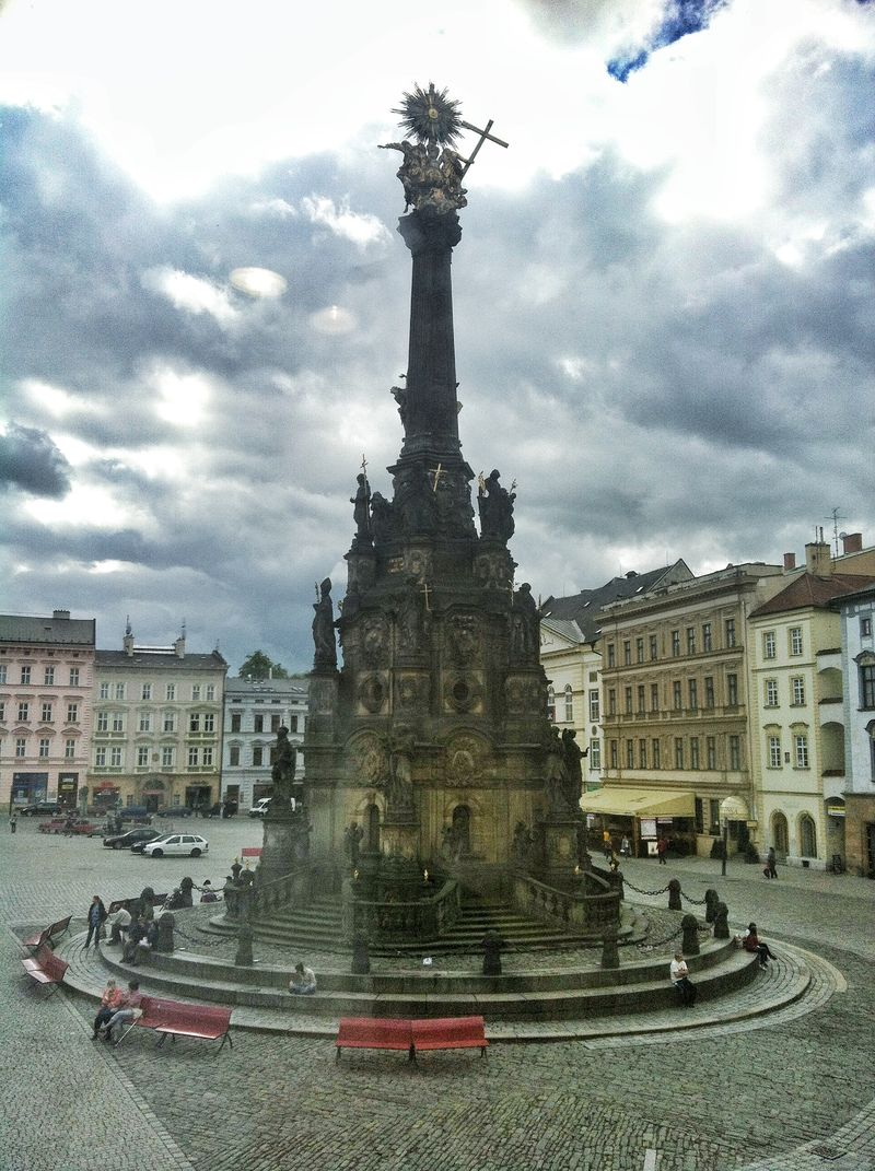 Baroque Column of the Holy Trinity
