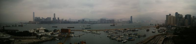 Excelsior Pan of HK Harbour