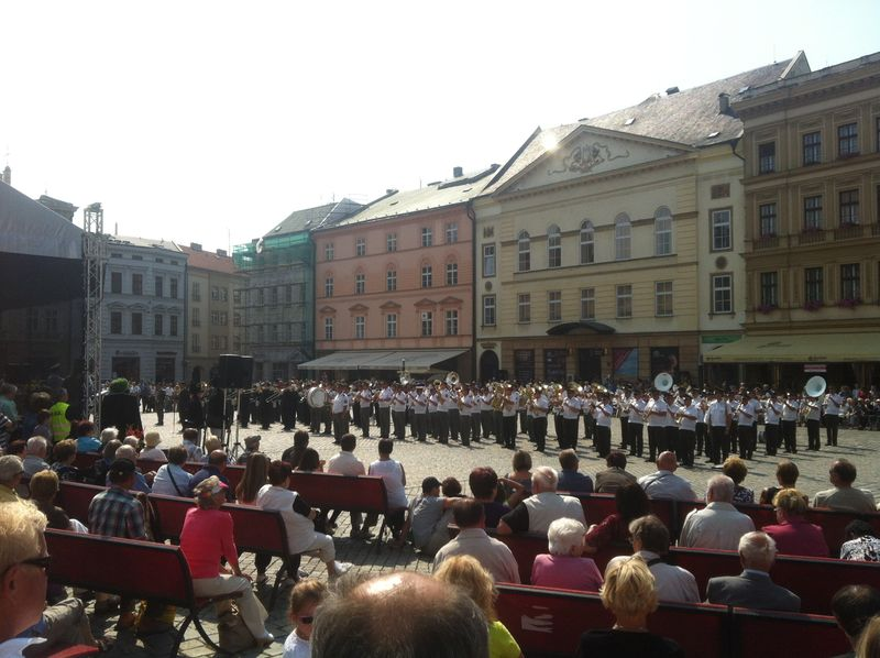 Bands in the Square