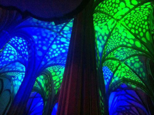 St Maurice's Church Jazzy Lighting