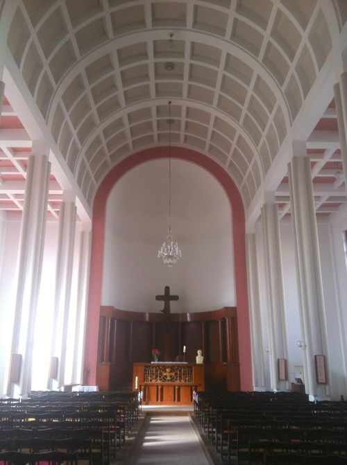 Hussite Church Interior