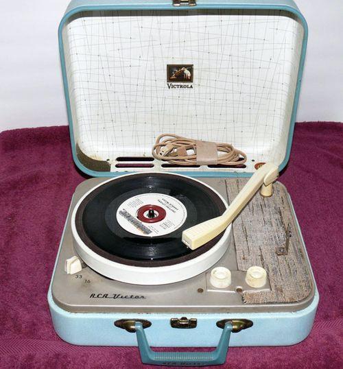 RCA Portable Record Player