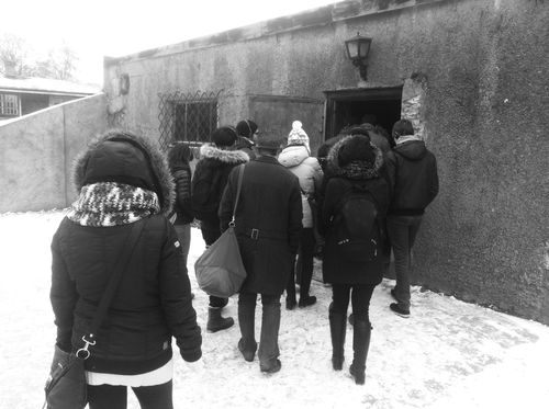 Entering the Gas Chambers
