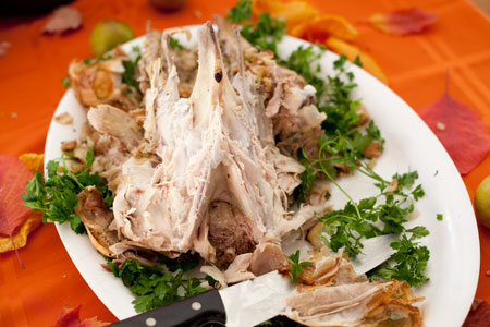 Turkey Carcass