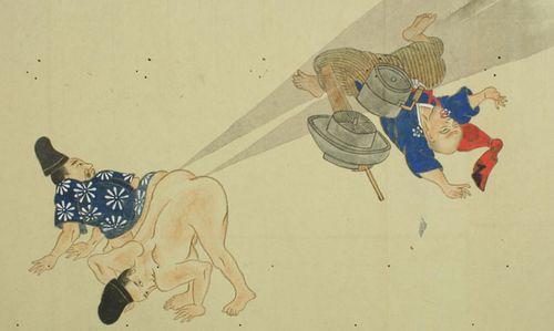 Japanese Fart Scroll