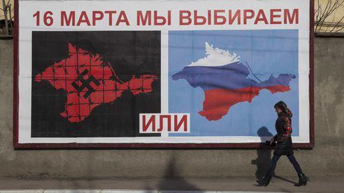 Crimea Sign