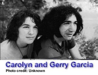 Mountain Girl and Gerry Garcia