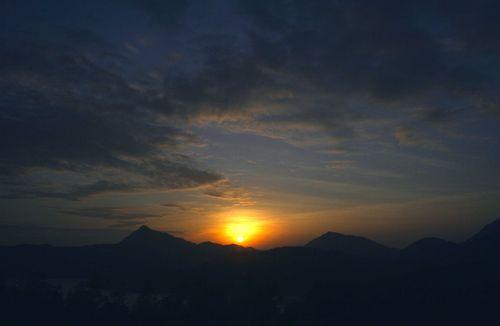 Sharp Peak Sunrise
