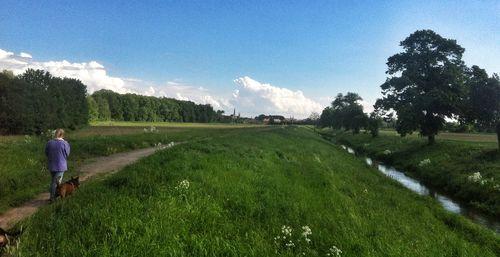 Beside the Moravske River
