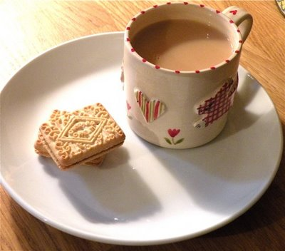 Tea and Biccys