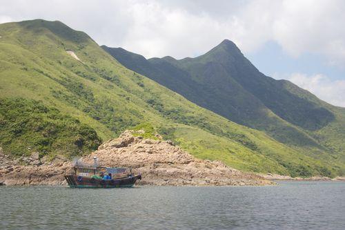 Sharp Peak and Boat