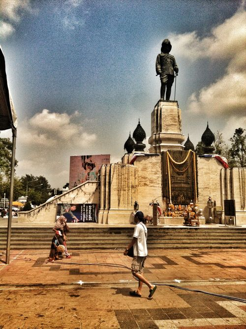 Lumphini Park with Rama VI