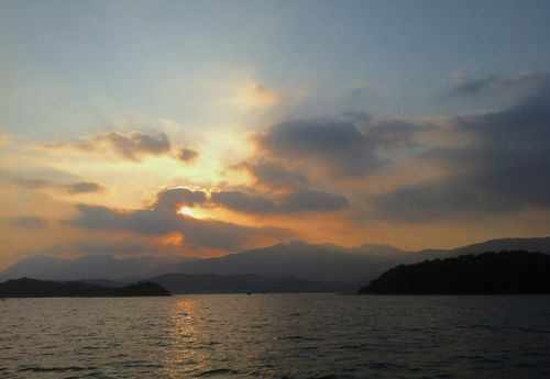 Sunset in Sai Kung Hrbour