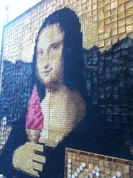 Mona Lisa Toast