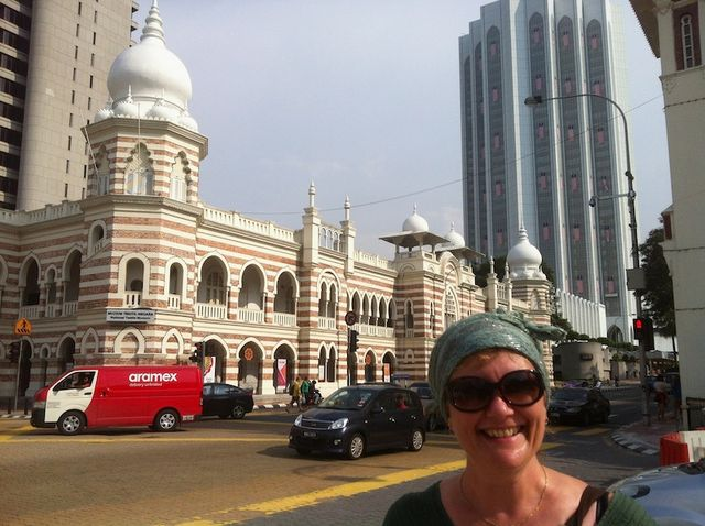 Bren and the KL Textile Museum