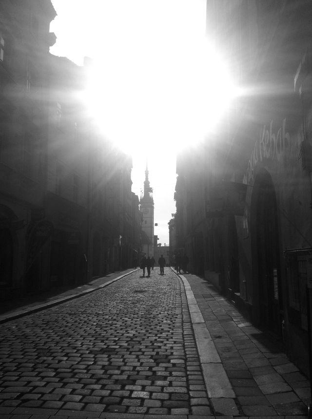 Sunlight on Cobbles